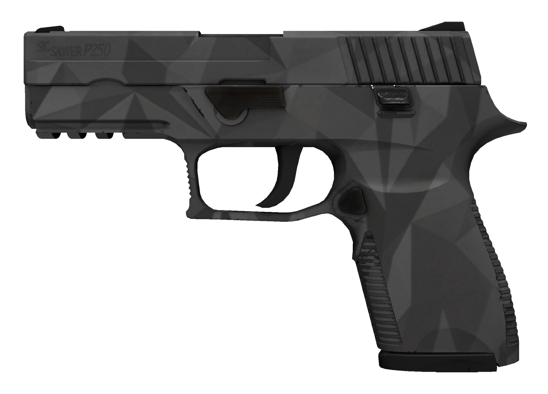 P250 Facets Large Rendering