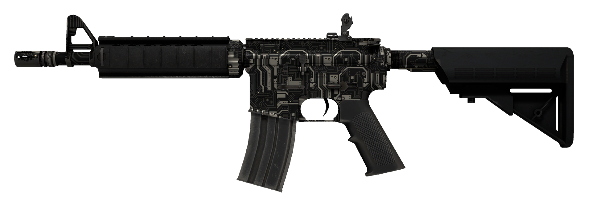 M4A4 Mainframe Large Rendering