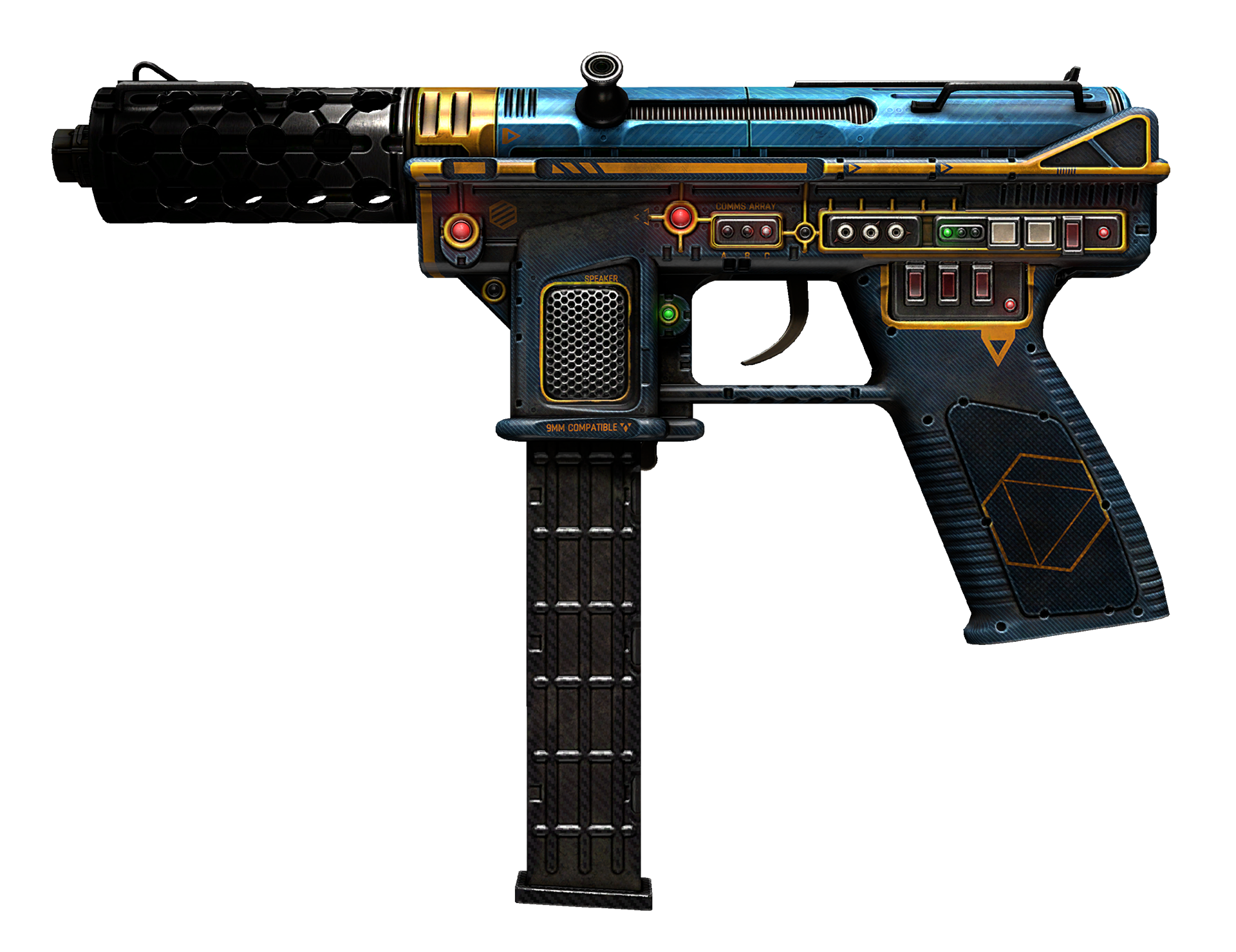 Tec-9 Remote Control Large Rendering