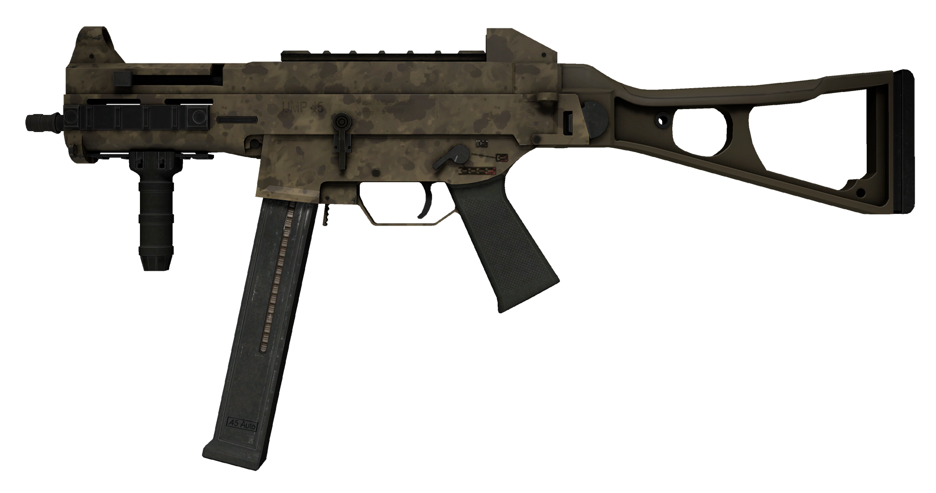 UMP-45 Mudder Large Rendering