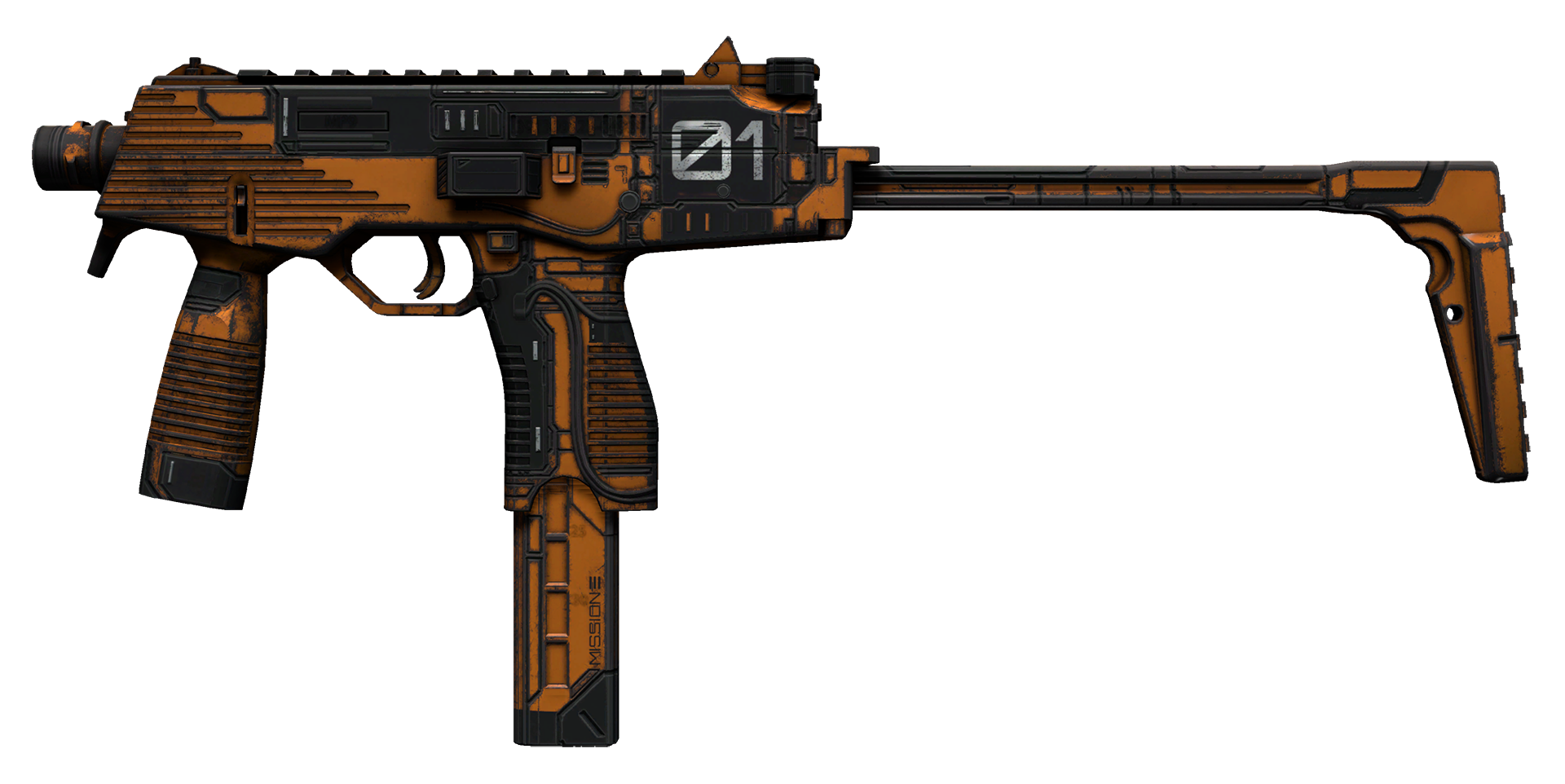 MP9 Modest Threat Large Rendering
