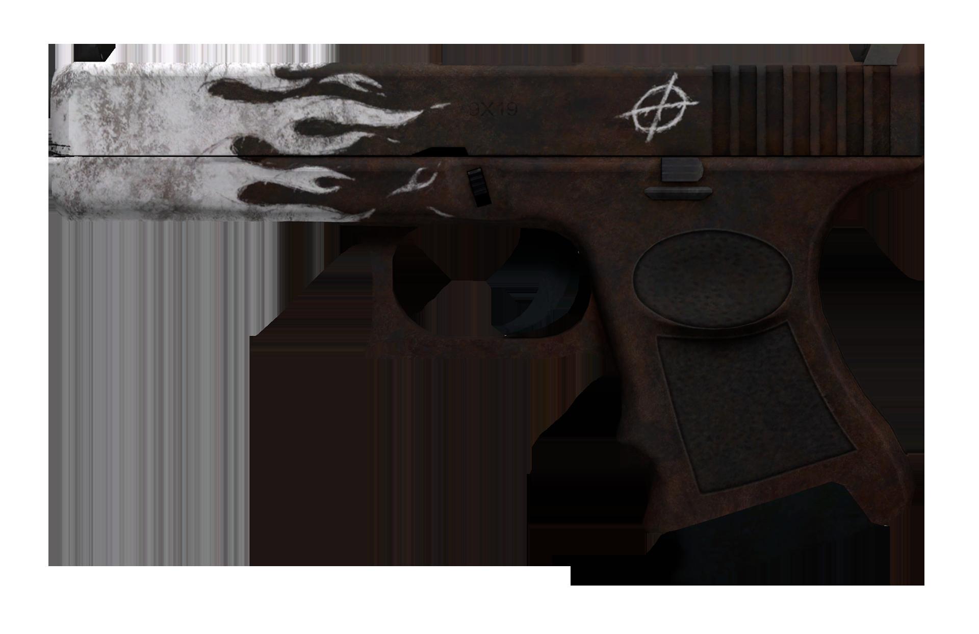 Glock-18 Oxide Blaze Large Rendering