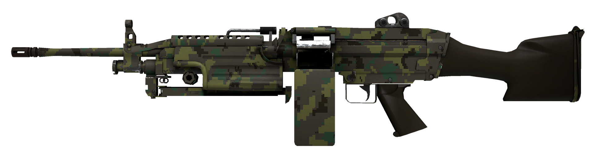 M249 Jungle DDPAT Large Rendering