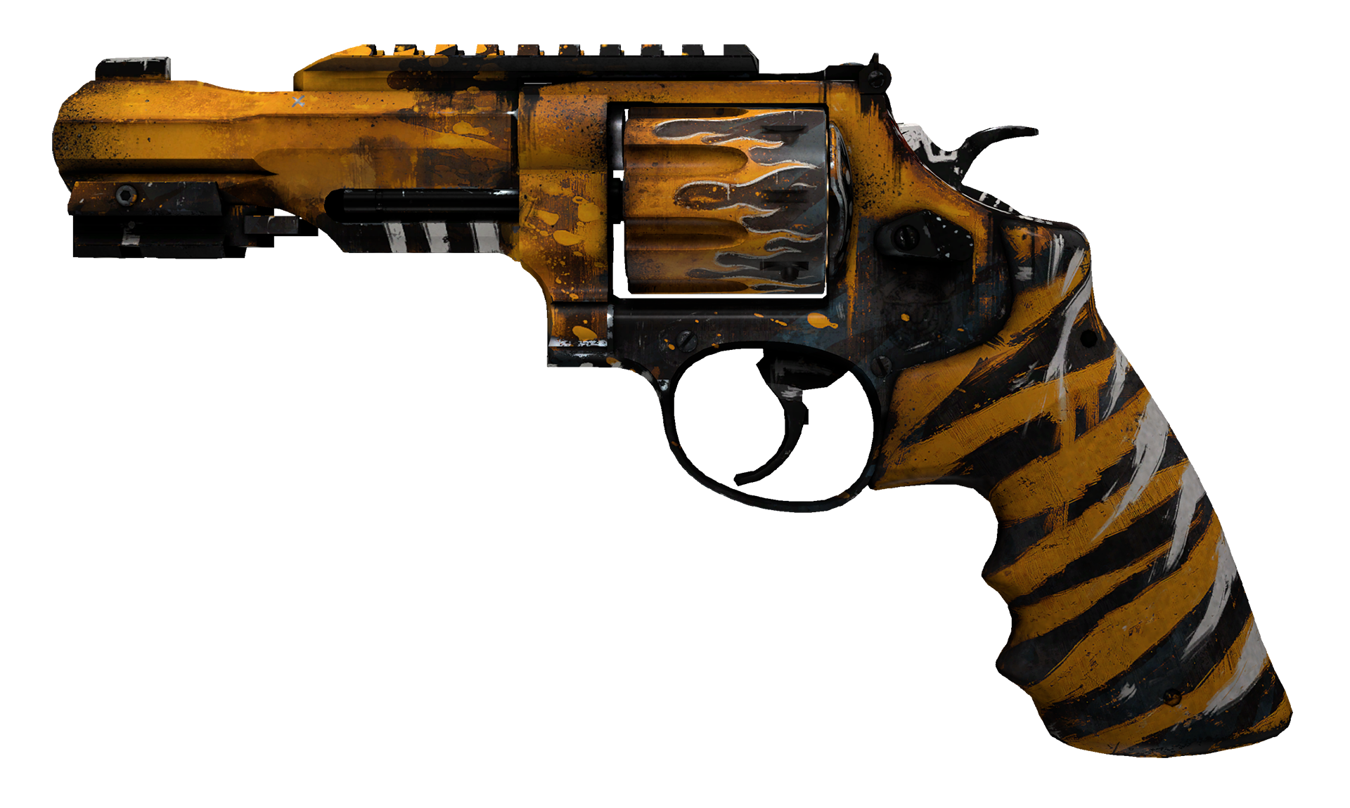 R8 Revolver Skull Crusher Large Rendering