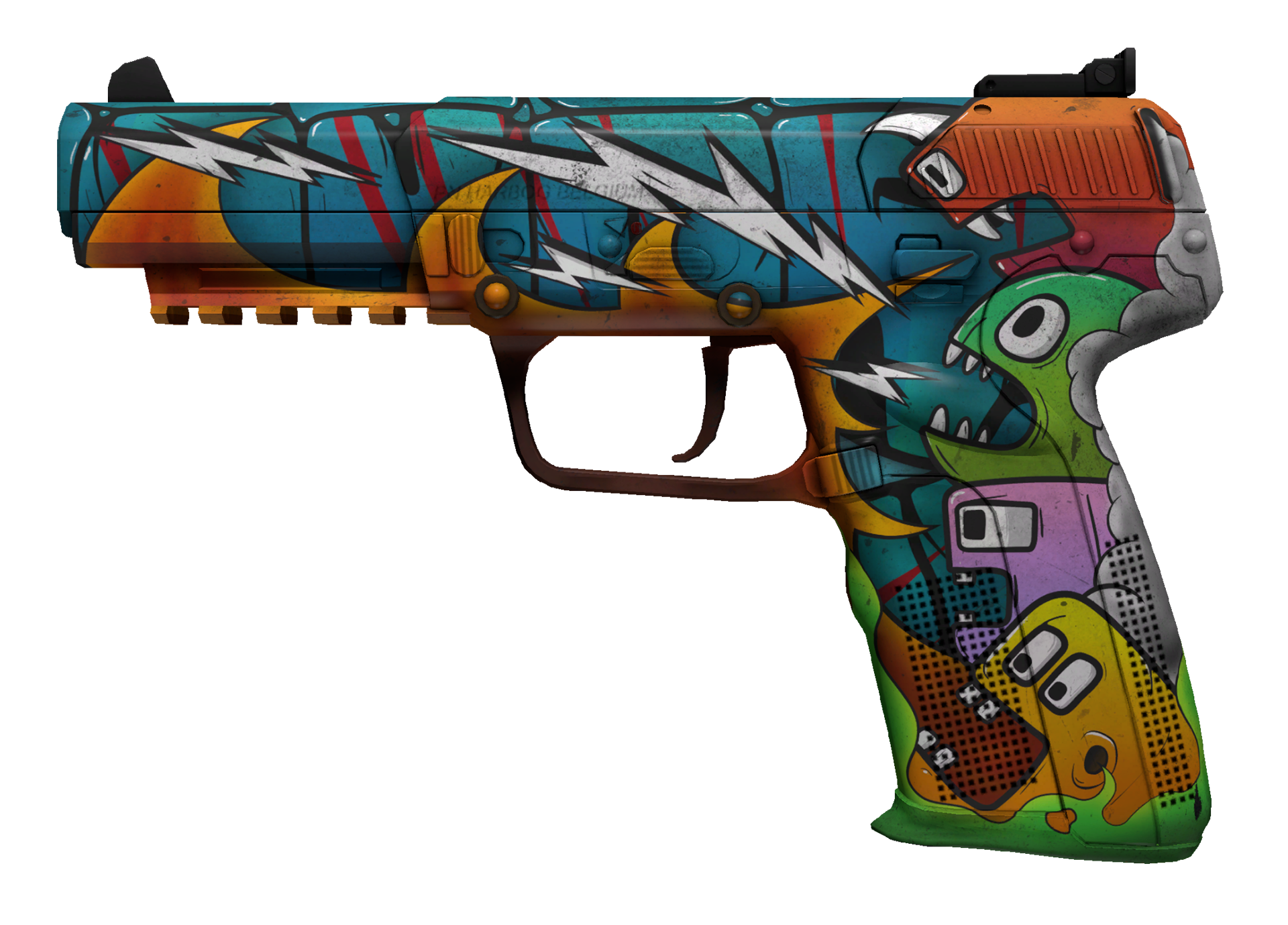 Five-SeveN Angry Mob Large Rendering