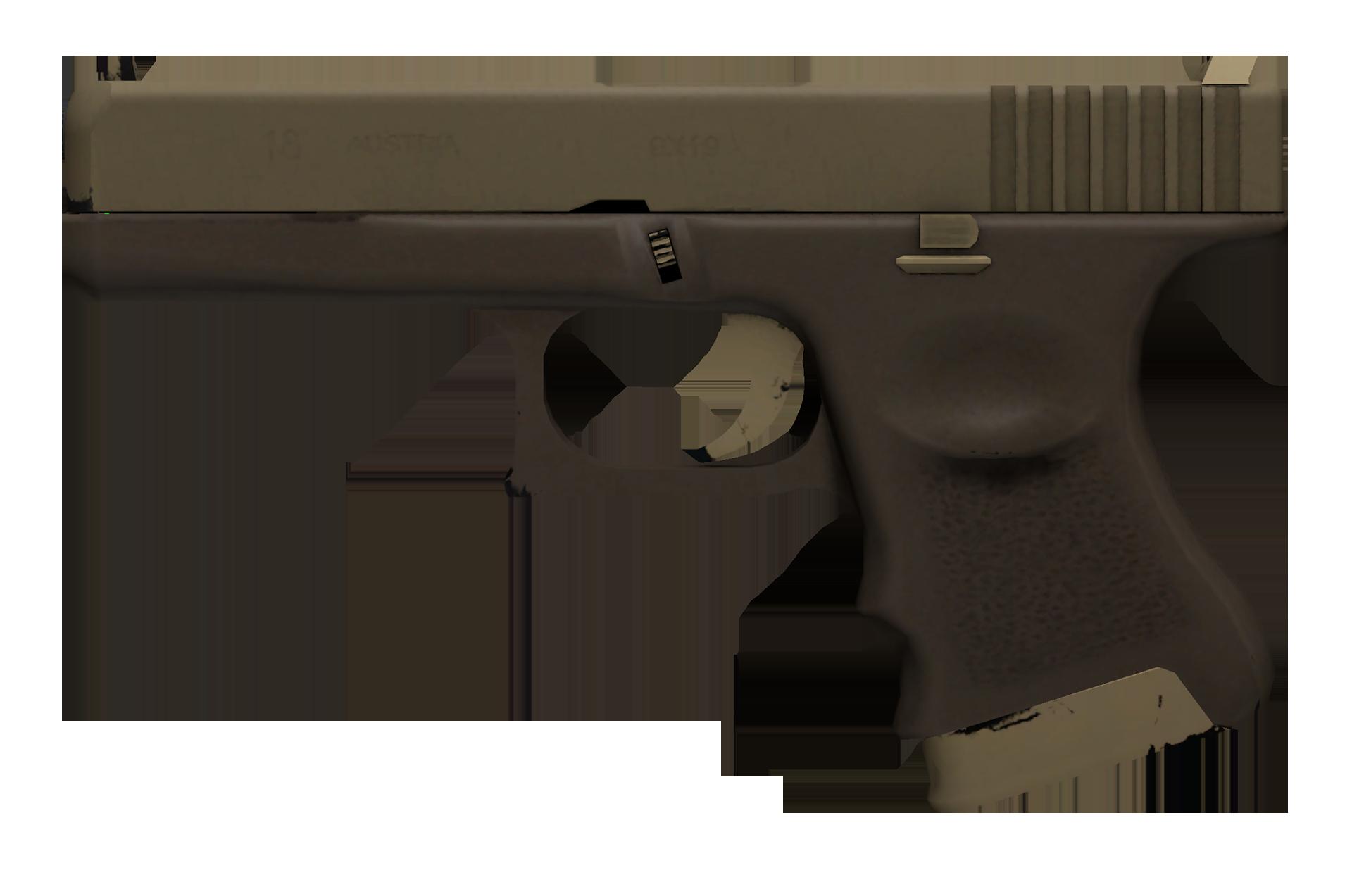 Glock-18 Sand Dune Large Rendering
