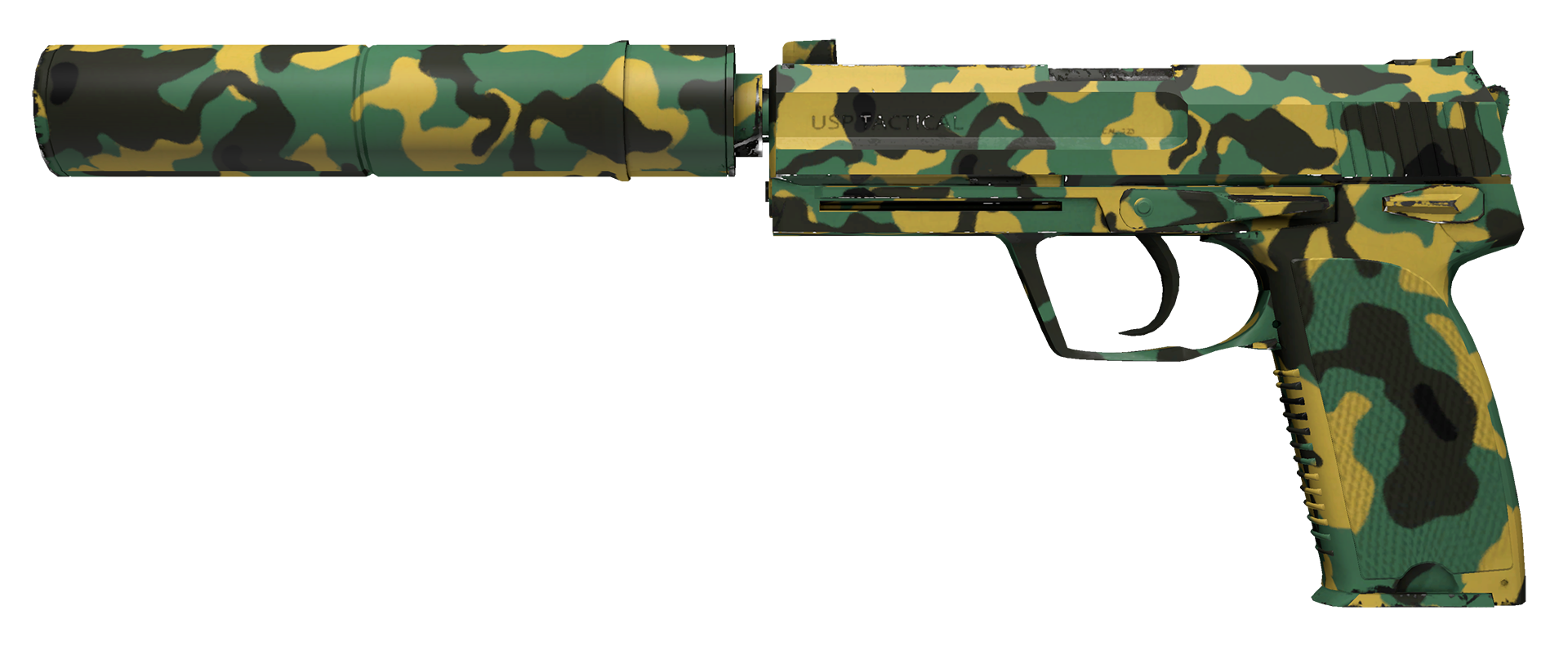 USP-S Overgrowth Large Rendering