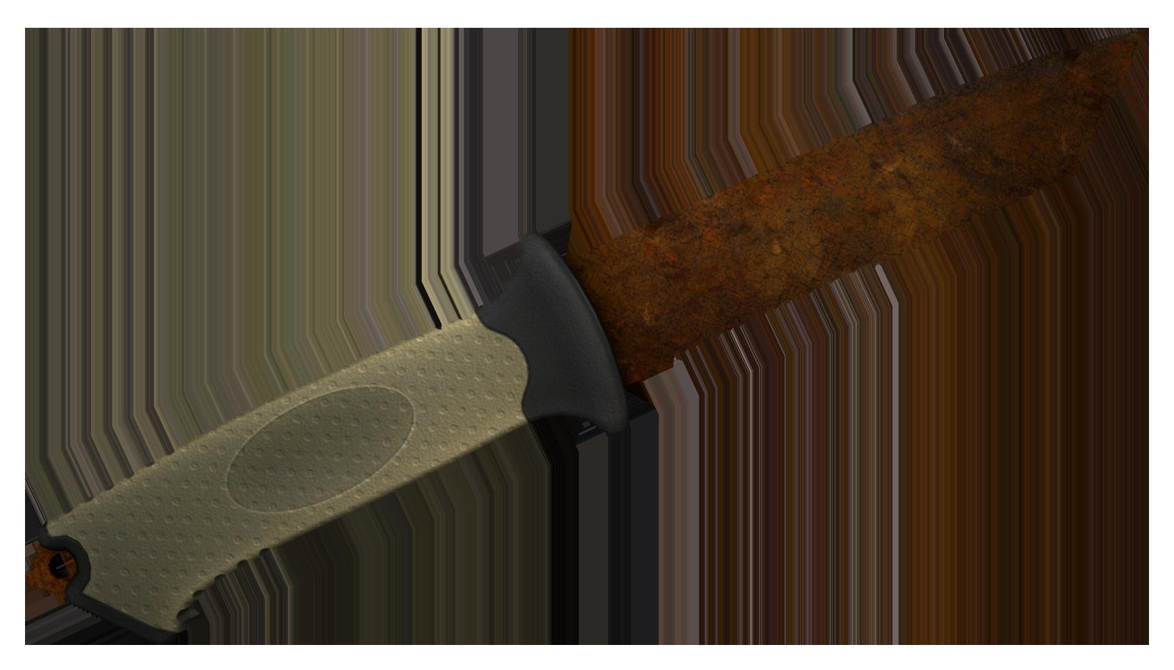 Ursus Knife Rust Coat Large Rendering