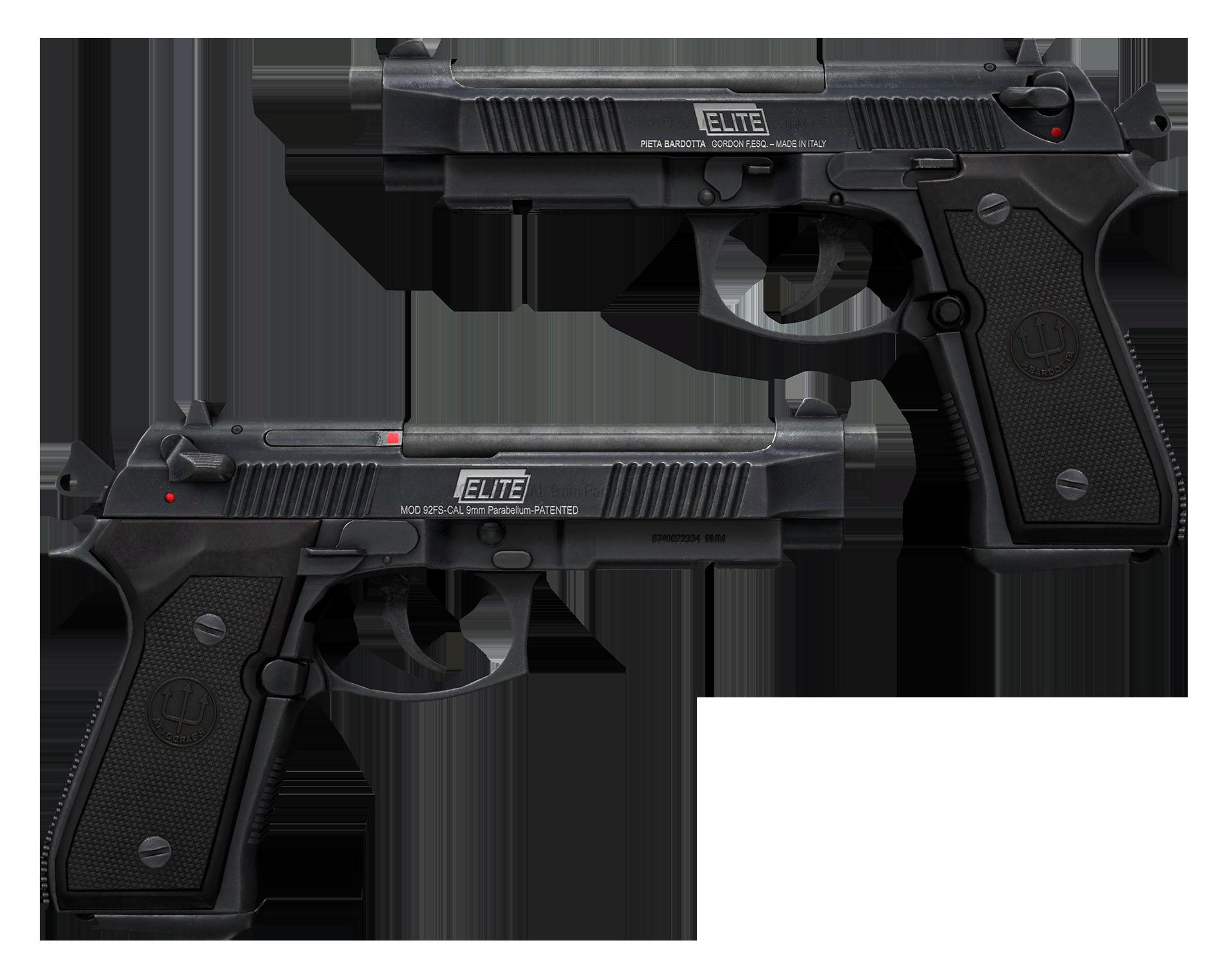 Dual Berettas Elite 1.6 Large Rendering