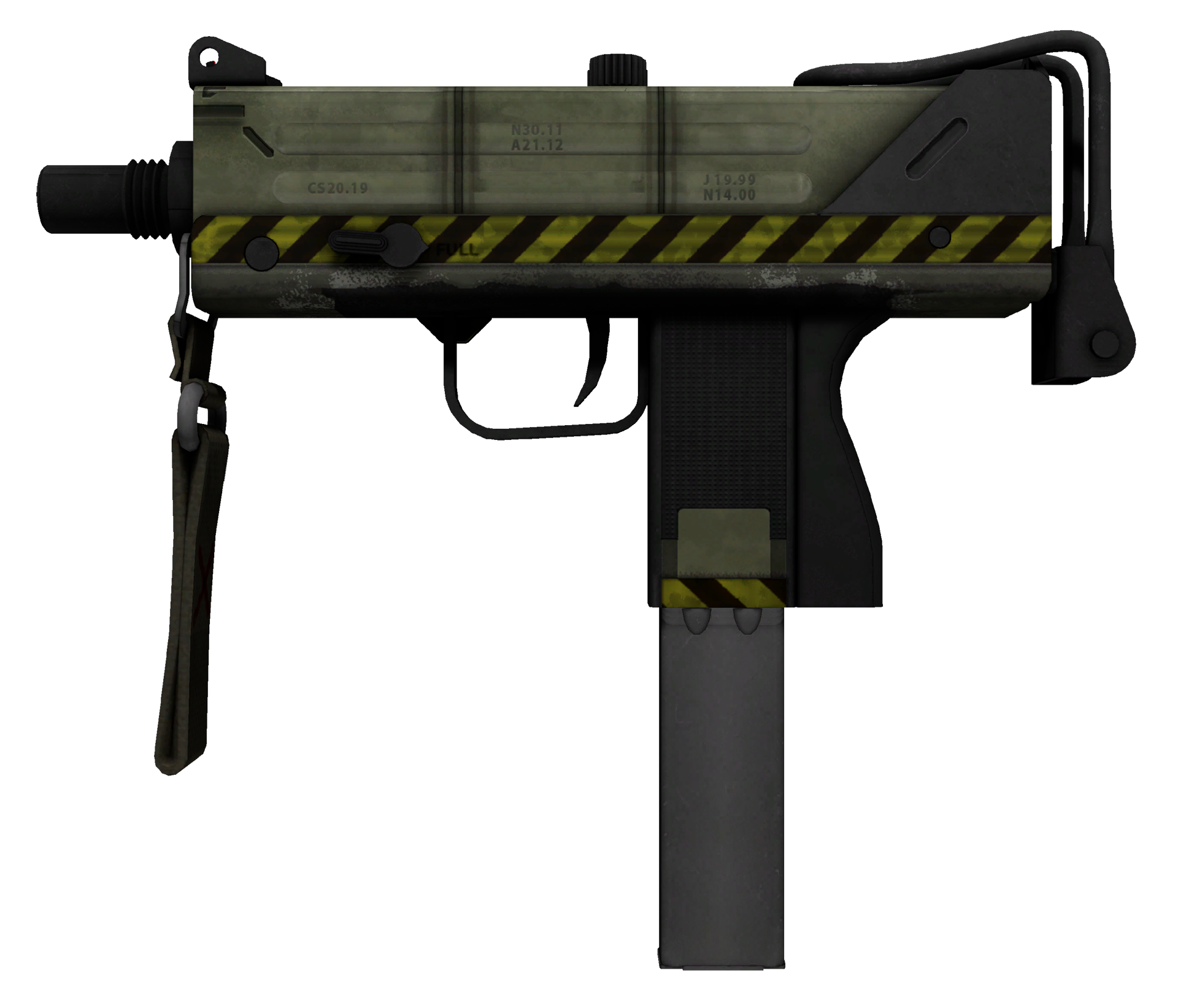 MAC-10 Classic Crate Large Rendering