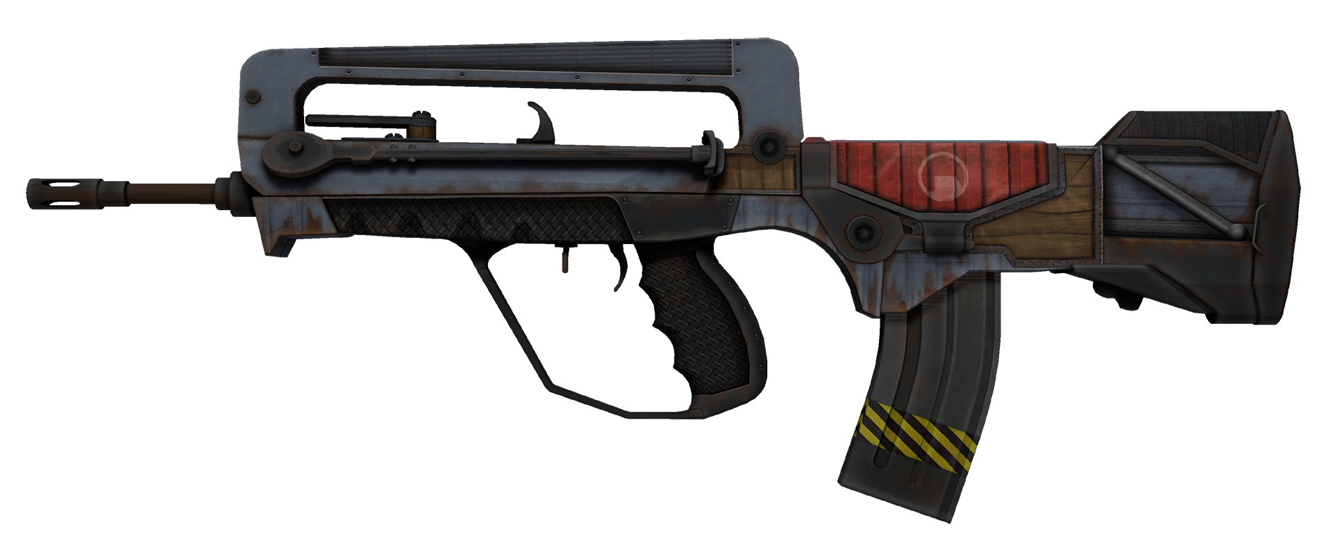 FAMAS Decommissioned Large Rendering