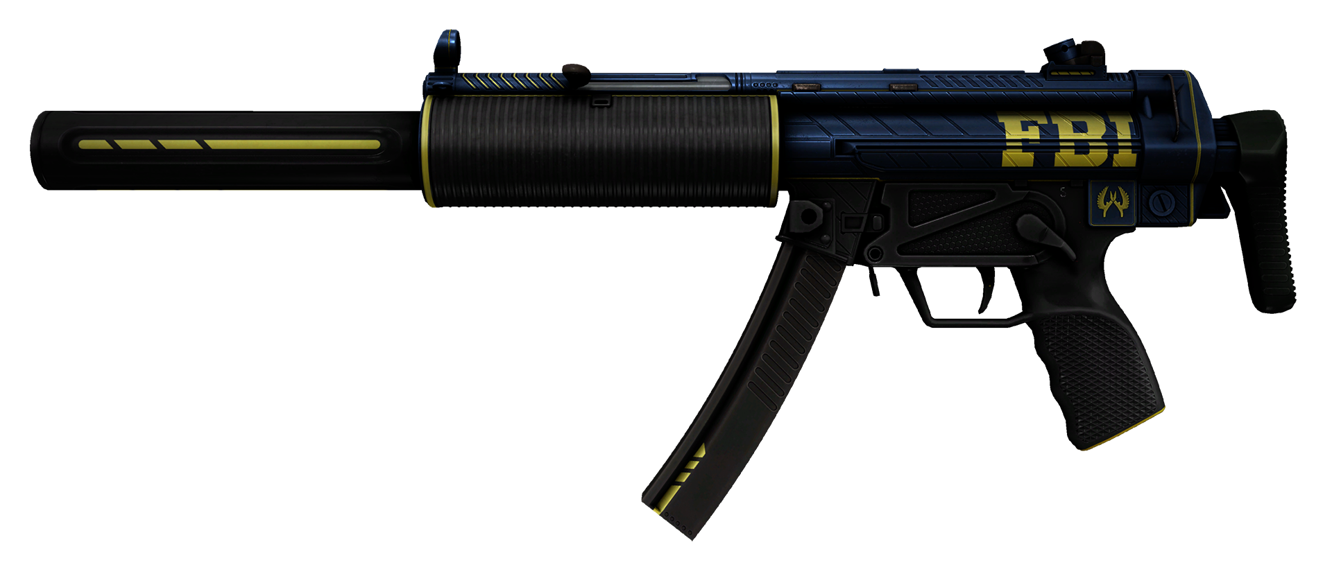 MP5-SD Agent Large Rendering