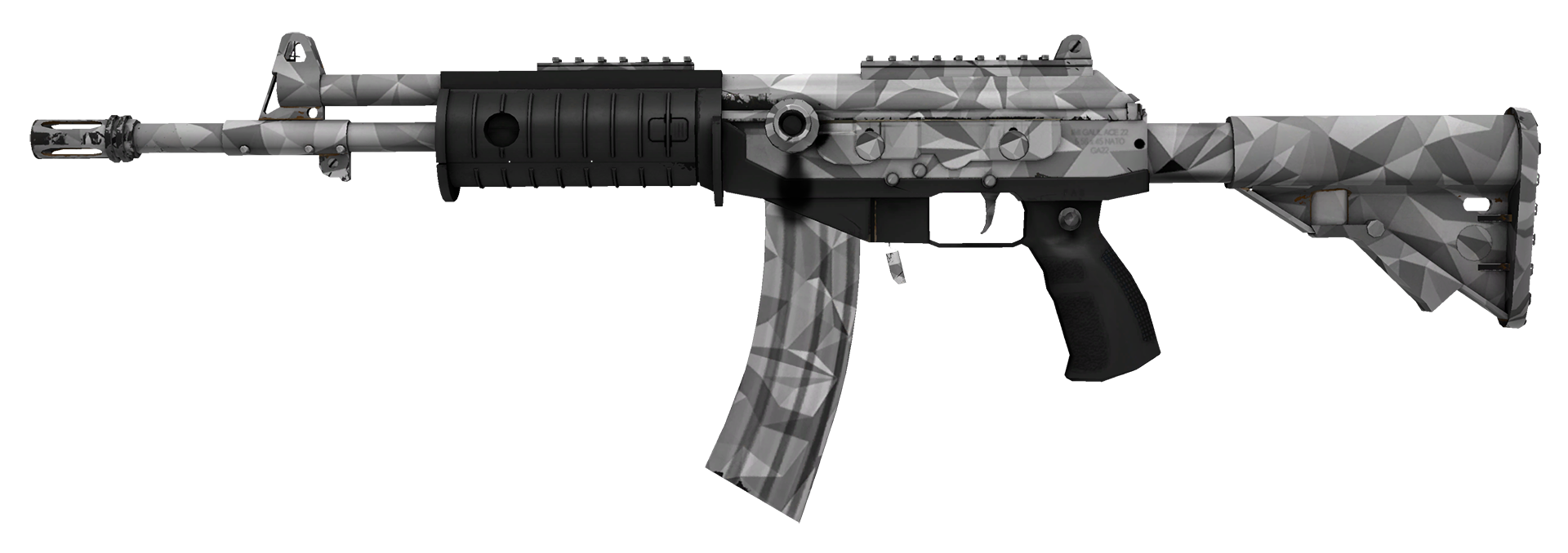Galil AR Shattered Large Rendering