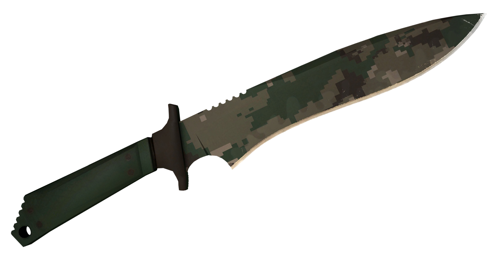 Classic Knife Forest DDPAT Large Rendering