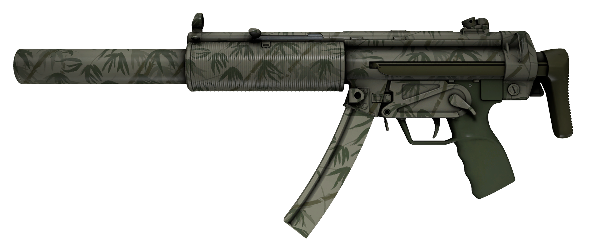 MP5-SD Bamboo Garden Large Rendering