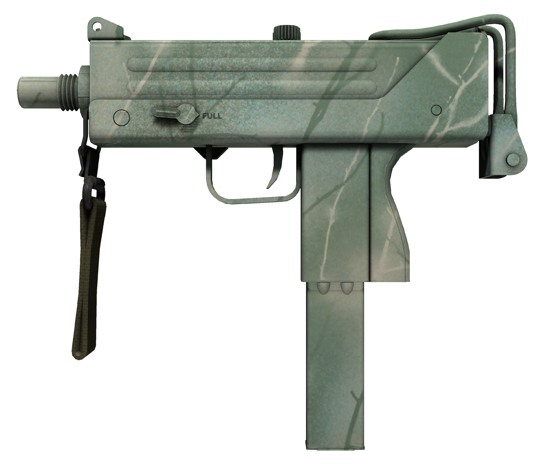 MAC-10 Surfwood Large Rendering
