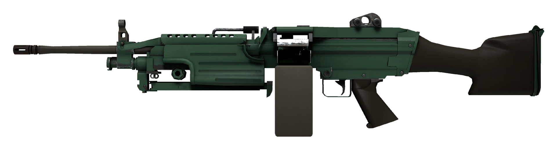 M249 Jungle Large Rendering