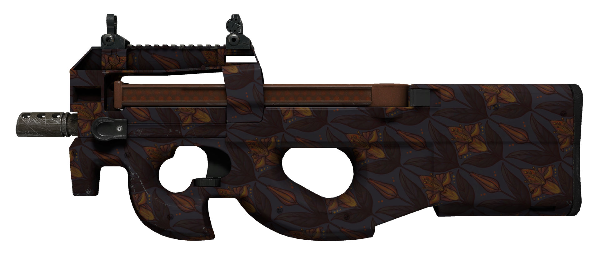 P90 Sunset Lily Large Rendering