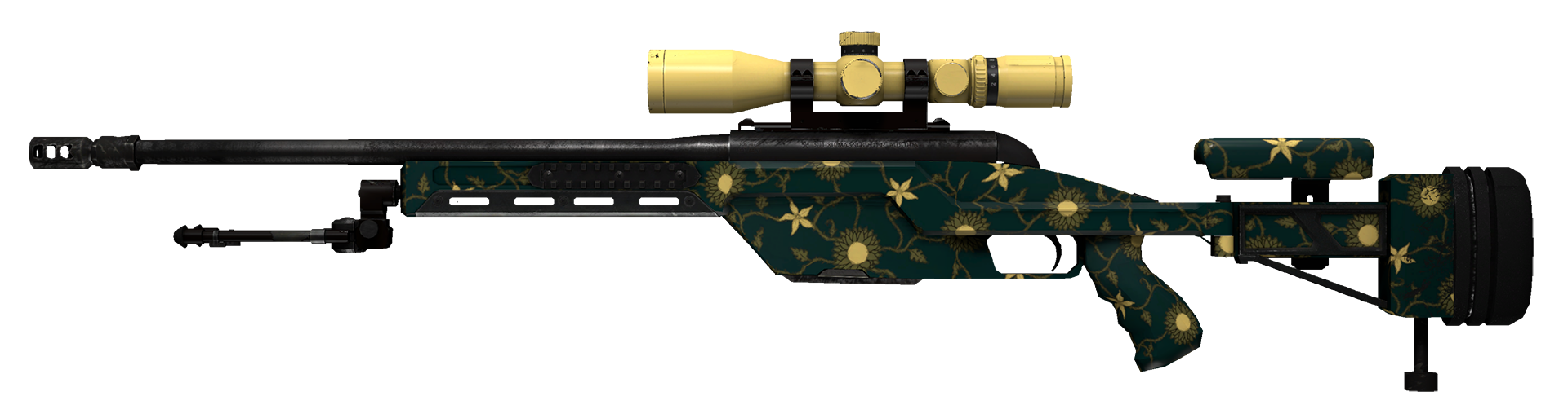 SSG 08 Sea Calico Large Rendering