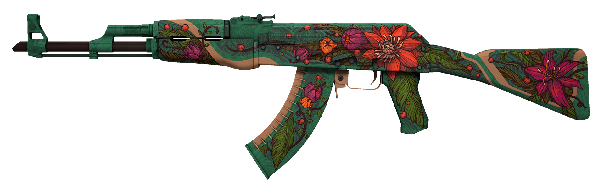 AK-47 Wild Lotus Large Rendering