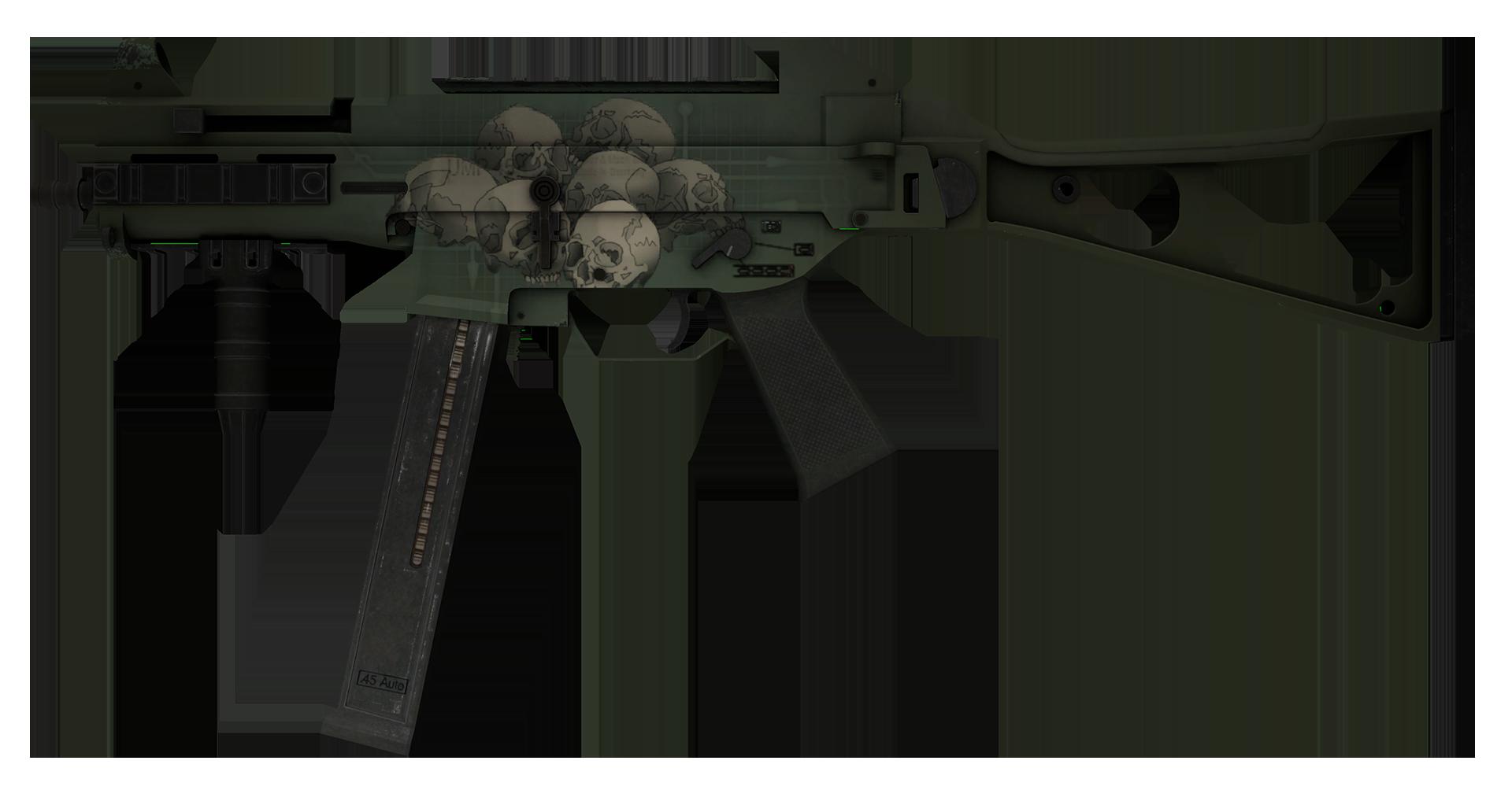 UMP-45 Bone Pile Large Rendering