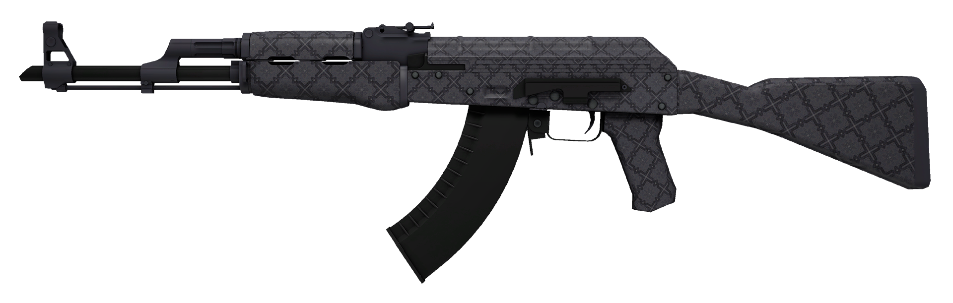AK-47 Baroque Purple Large Rendering