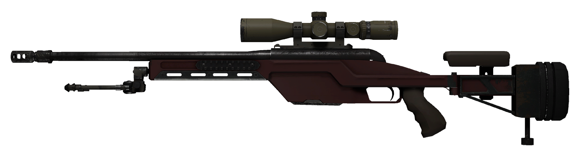 SSG 08 Red Stone Large Rendering