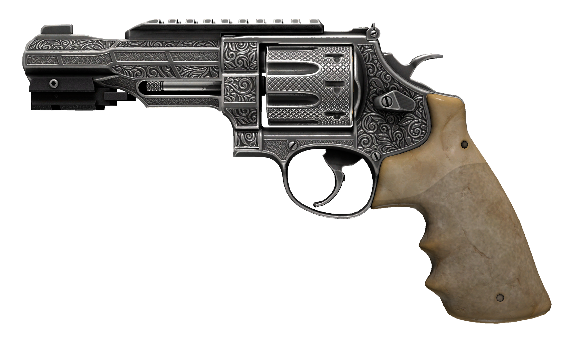 R8 Revolver Memento Large Rendering