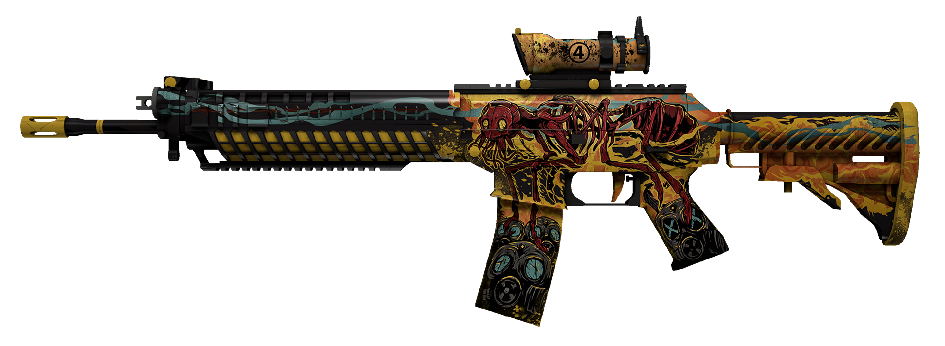 SG 553 Colony IV Large Rendering