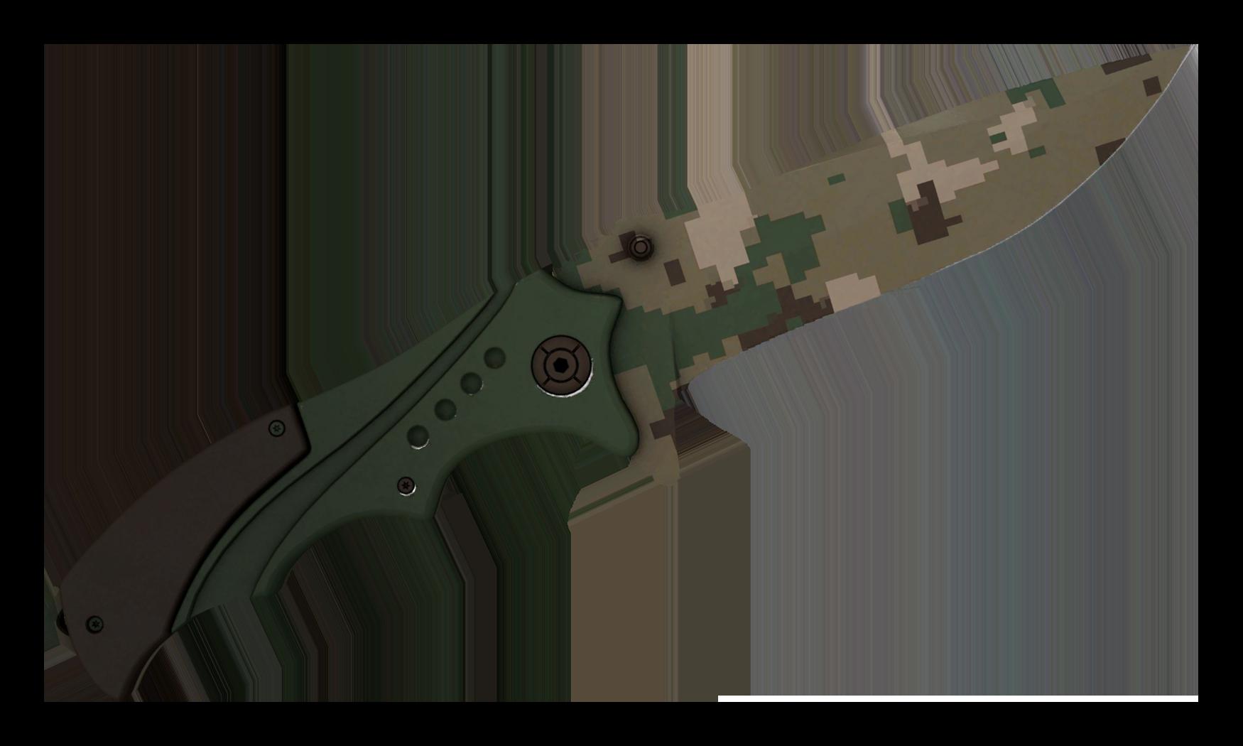 Nomad Knife Forest DDPAT Large Rendering