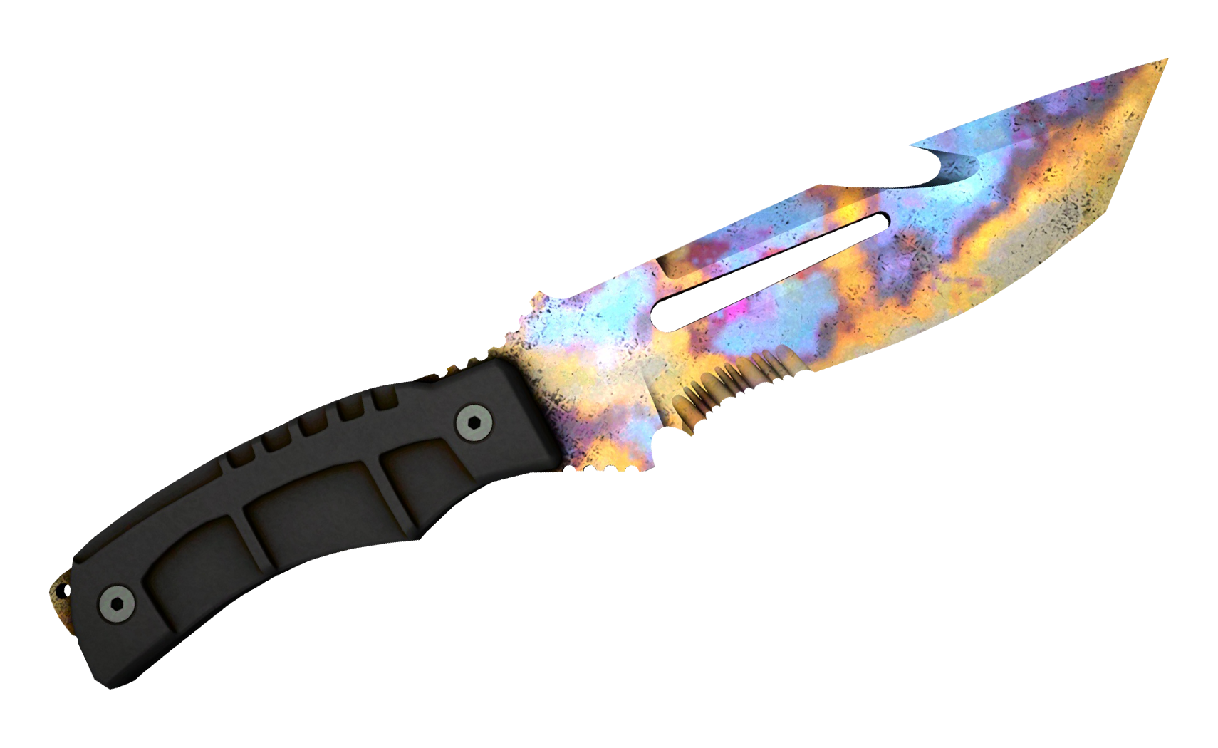 Survival Knife Case Hardened Large Rendering