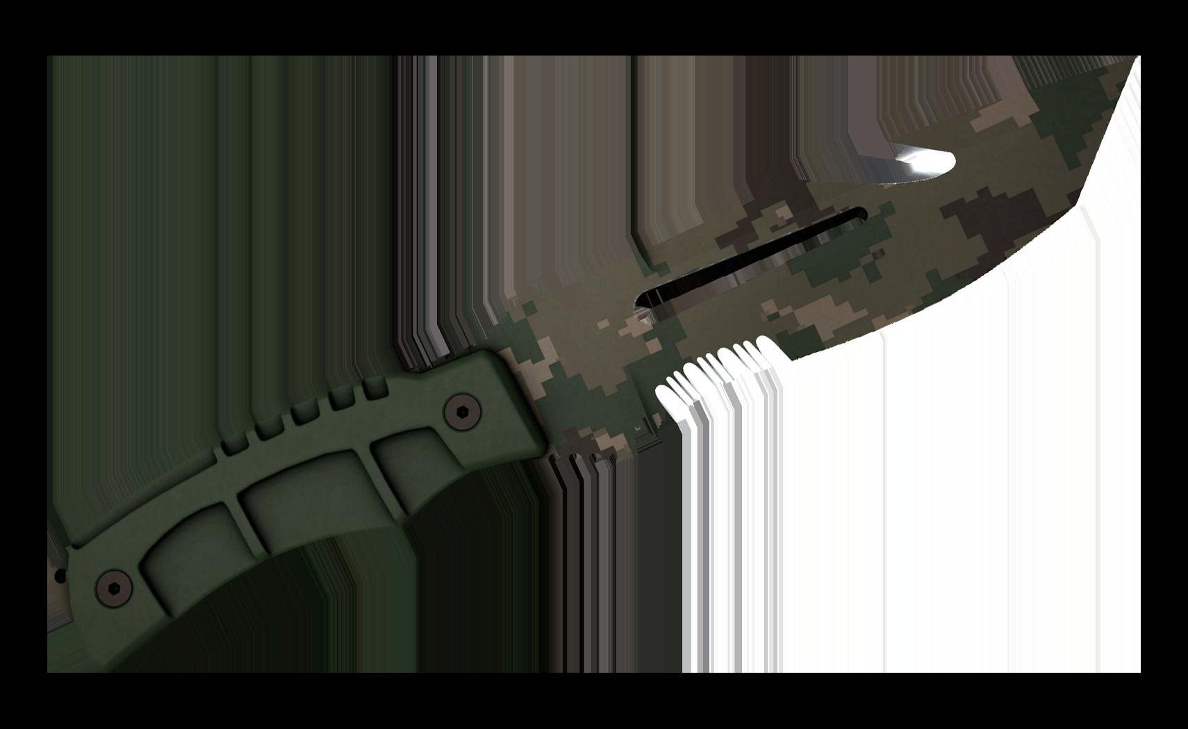 Survival Knife Forest DDPAT Large Rendering