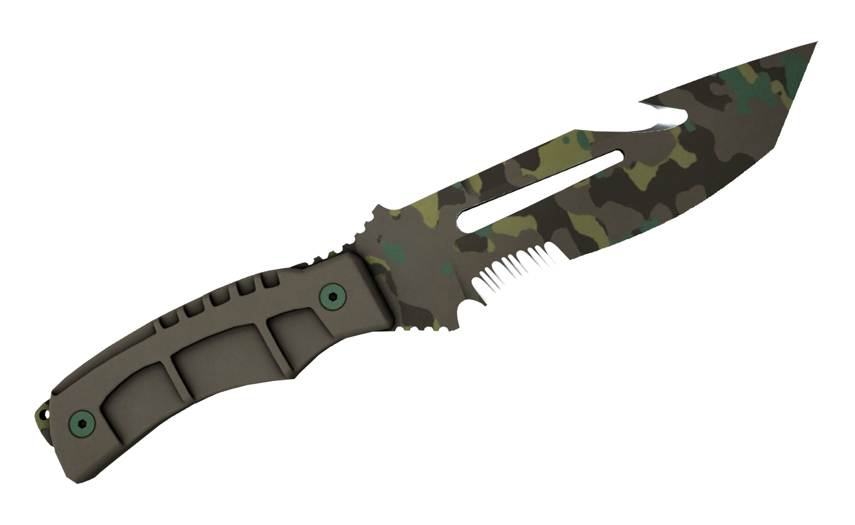 Survival Knife Boreal Forest Large Rendering