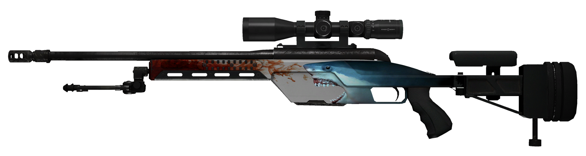 SSG 08 Blood in the Water Large Rendering