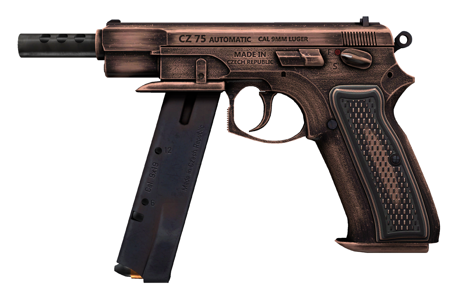 CZ75-Auto Distressed Large Rendering