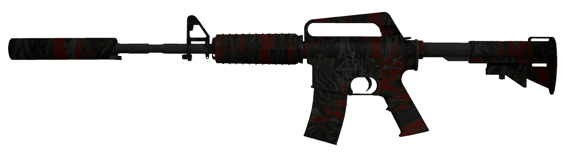 M4A1-S Blood Tiger Large Rendering