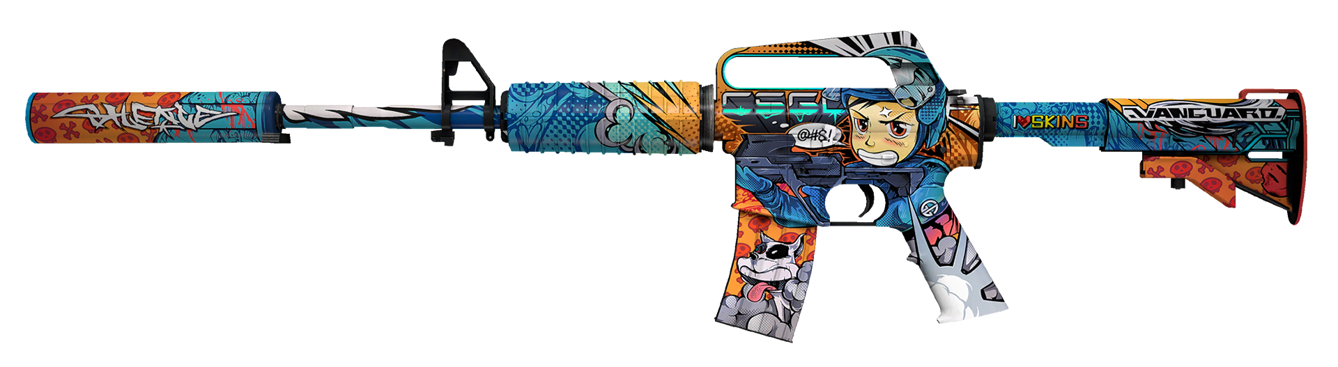 M4A1-S Player Two Large Rendering