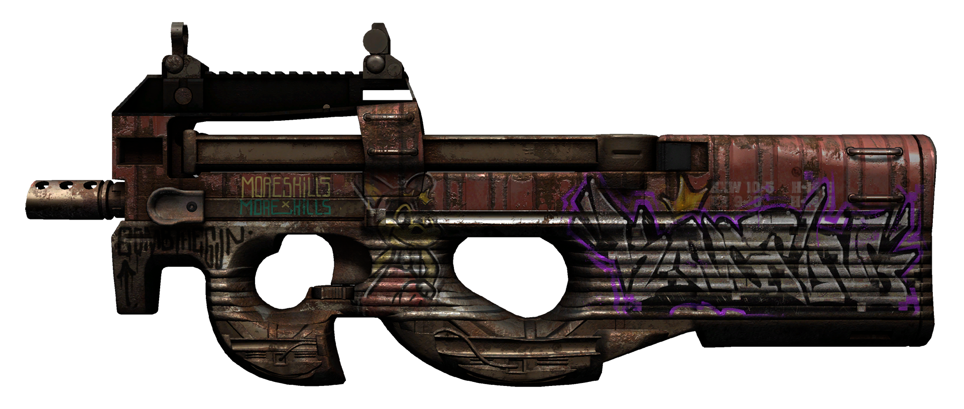 P90 Freight Large Rendering