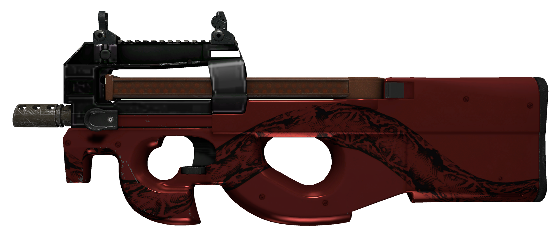 P90 Cold Blooded Large Rendering