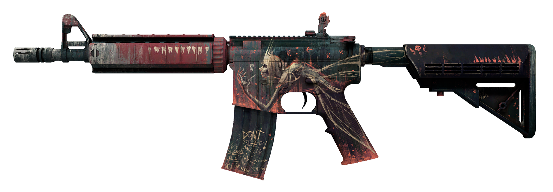 M4A4 Tooth Fairy Large Rendering