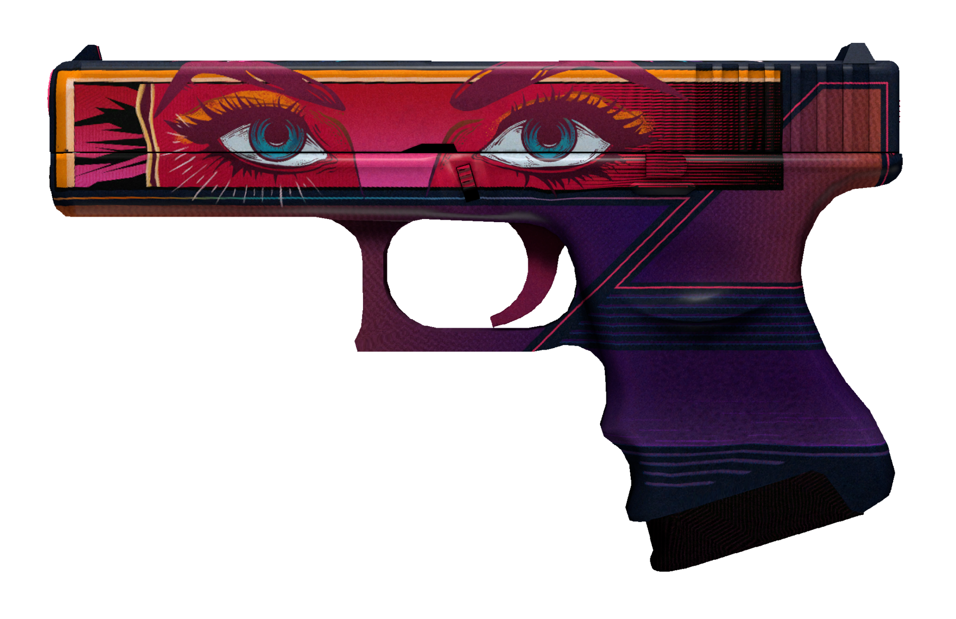 Glock-18 Vogue Large Rendering