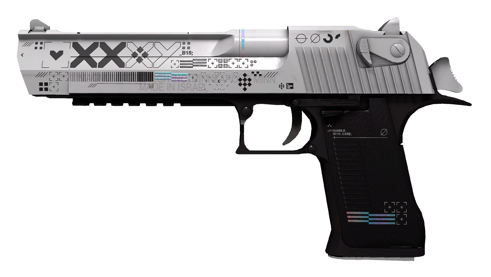 Desert Eagle Printstream Large Rendering