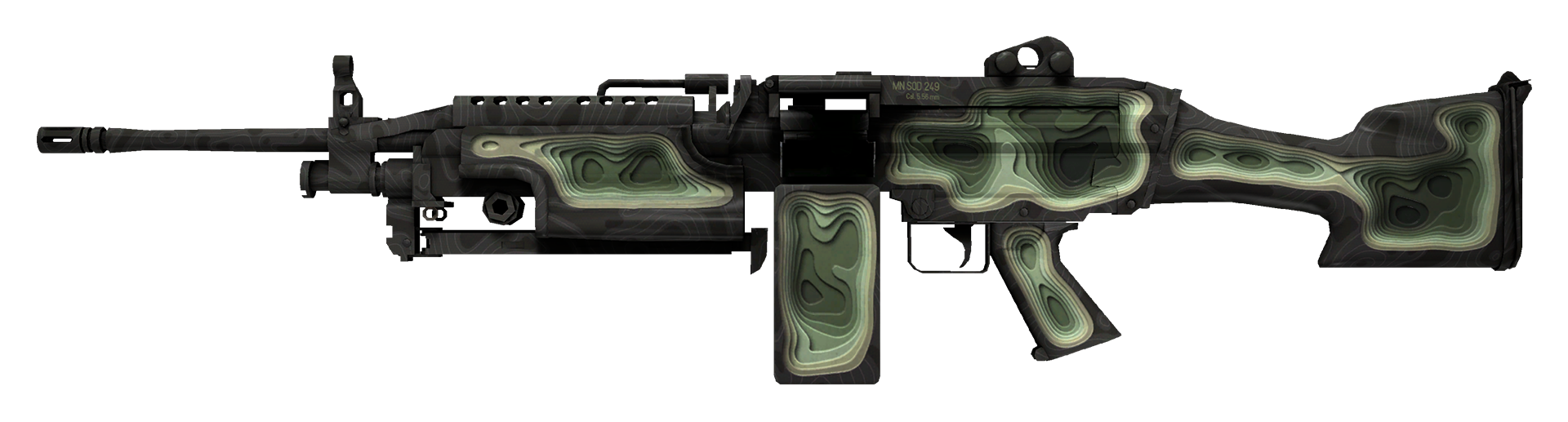 M249 Deep Relief Large Rendering
