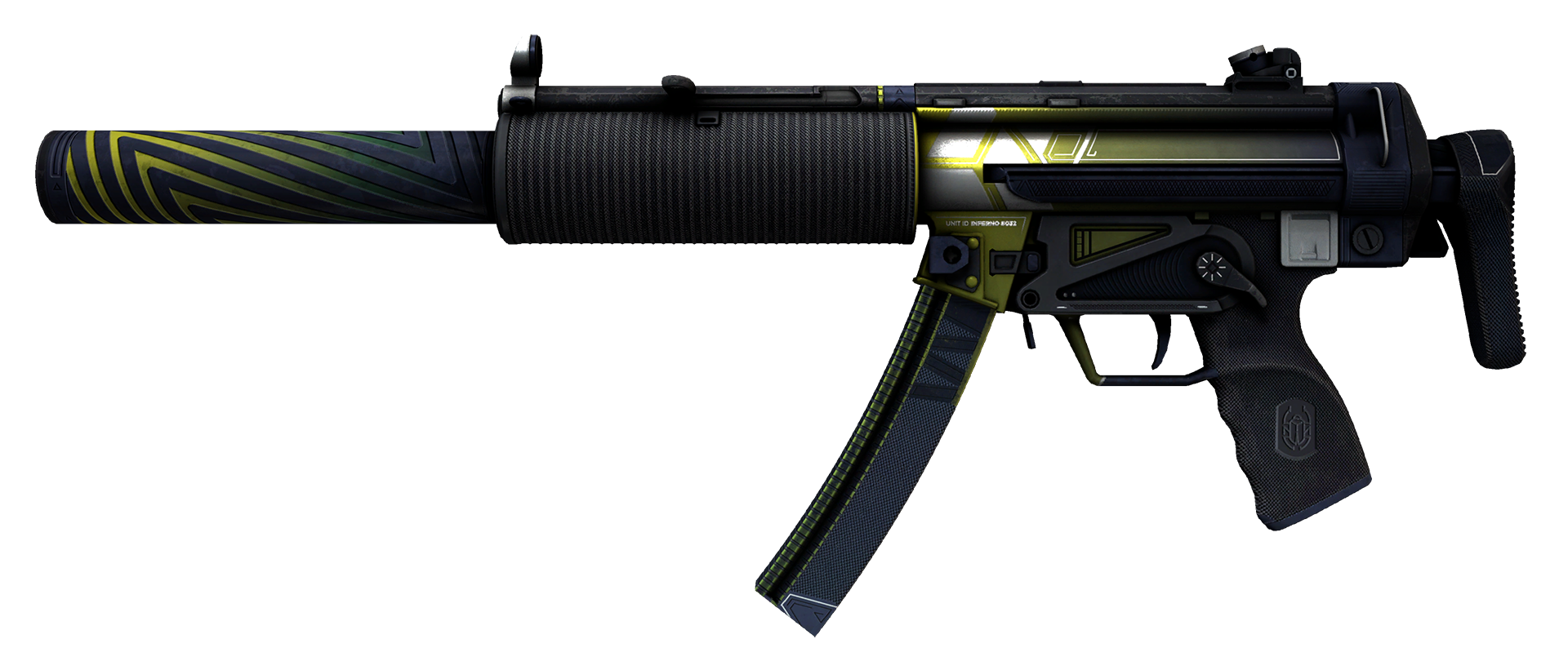 MP5-SD Condition Zero Large Rendering