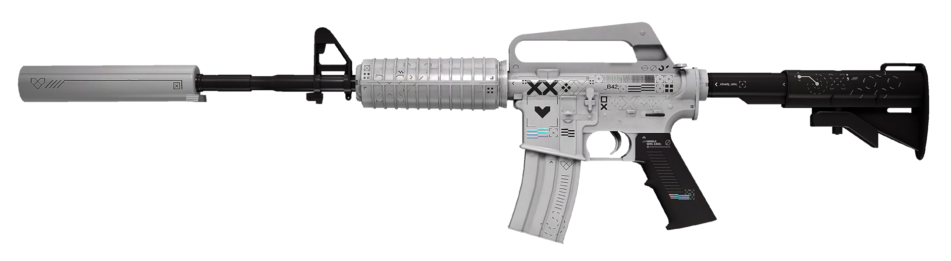 M4A1-S Printstream Large Rendering