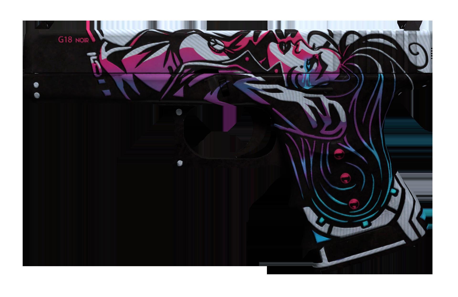 Glock-18 Neo-Noir Large Rendering