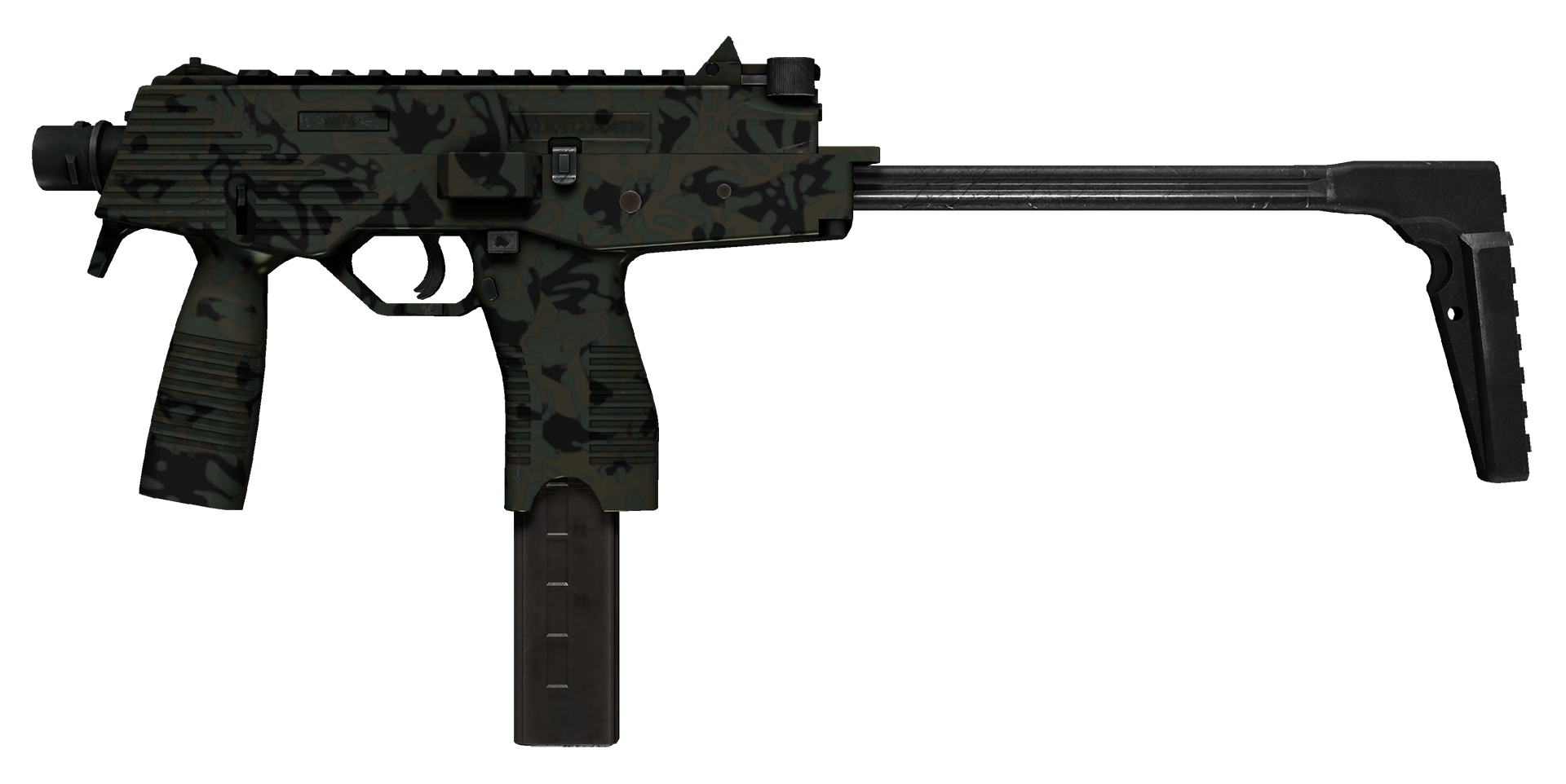 MP9 Army Sheen Large Rendering