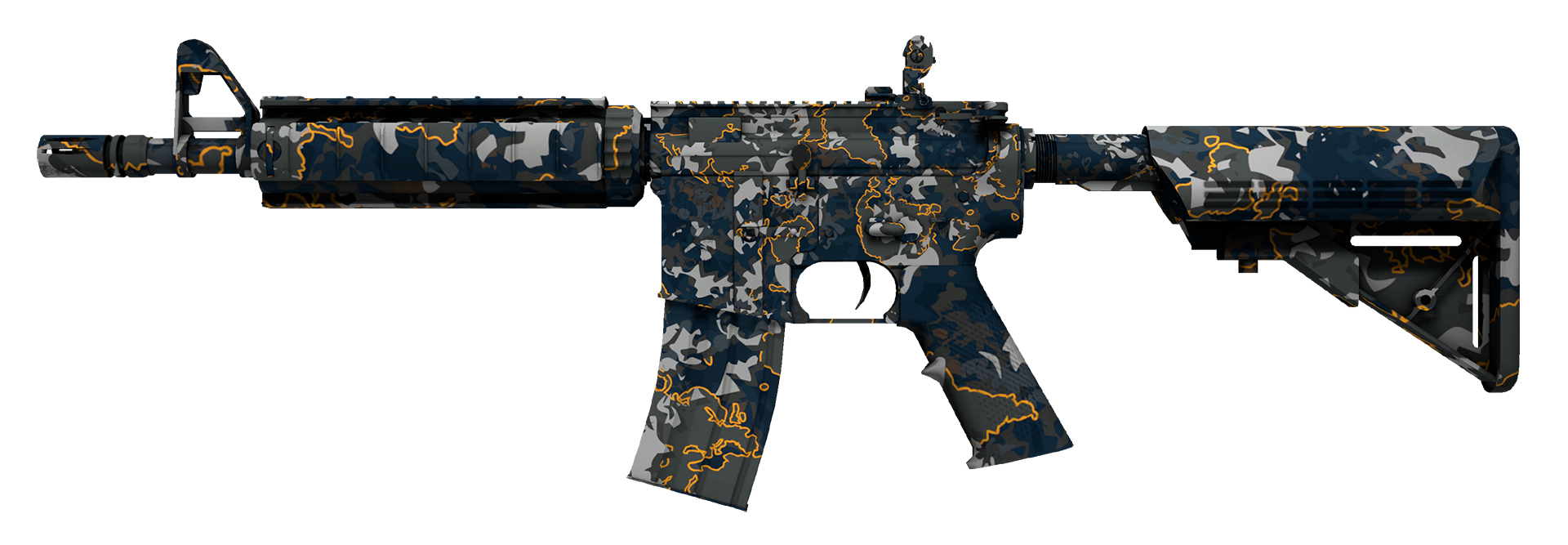 M4A4 Global Offensive Large Rendering