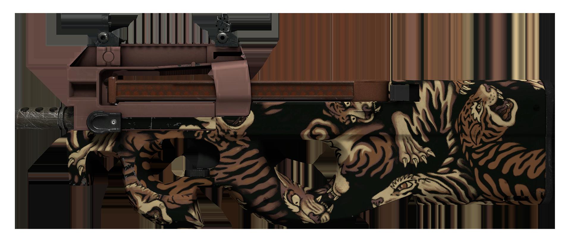 P90 Tiger Pit Large Rendering