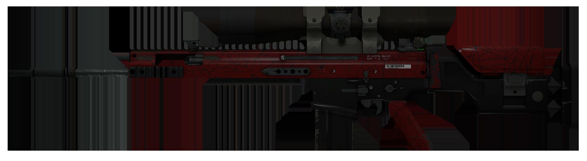 SCAR-20 Crimson Web Large Rendering